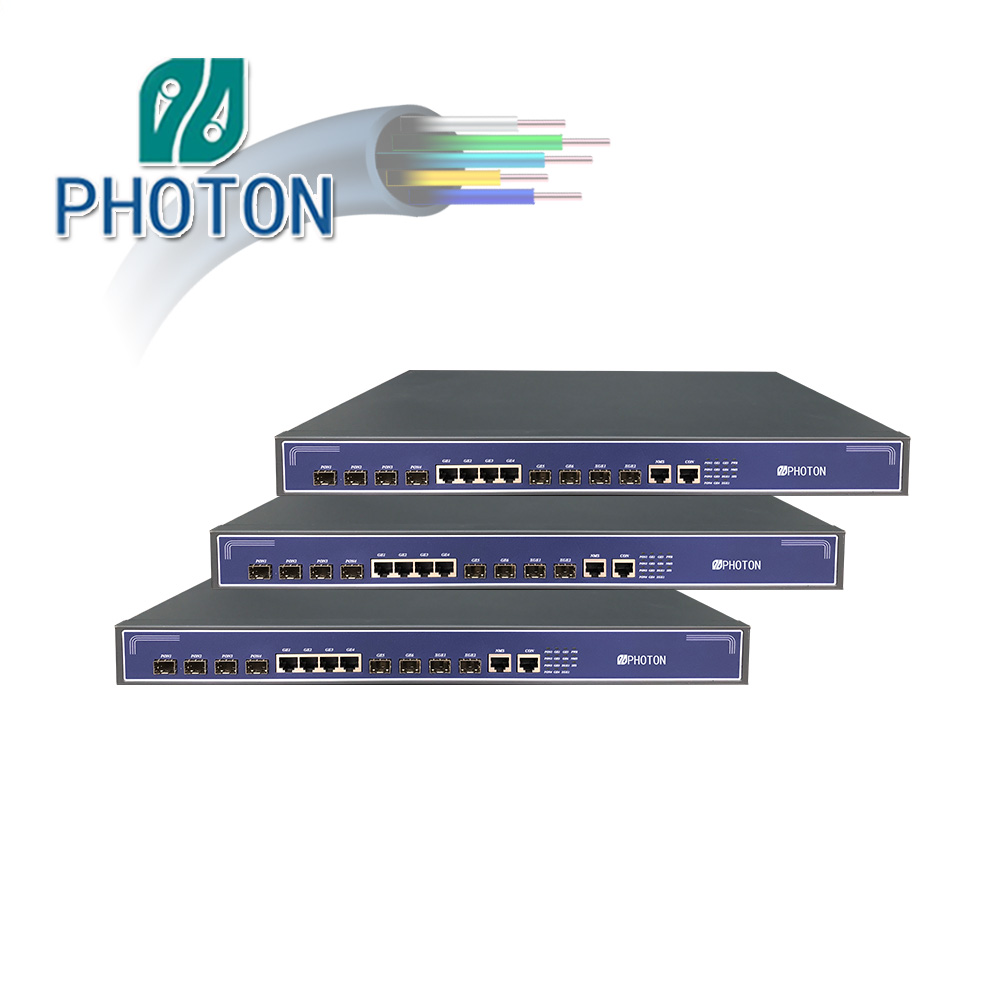 FTTH Layer3 4ports EPON OLT With 10g Uplink PTF3004