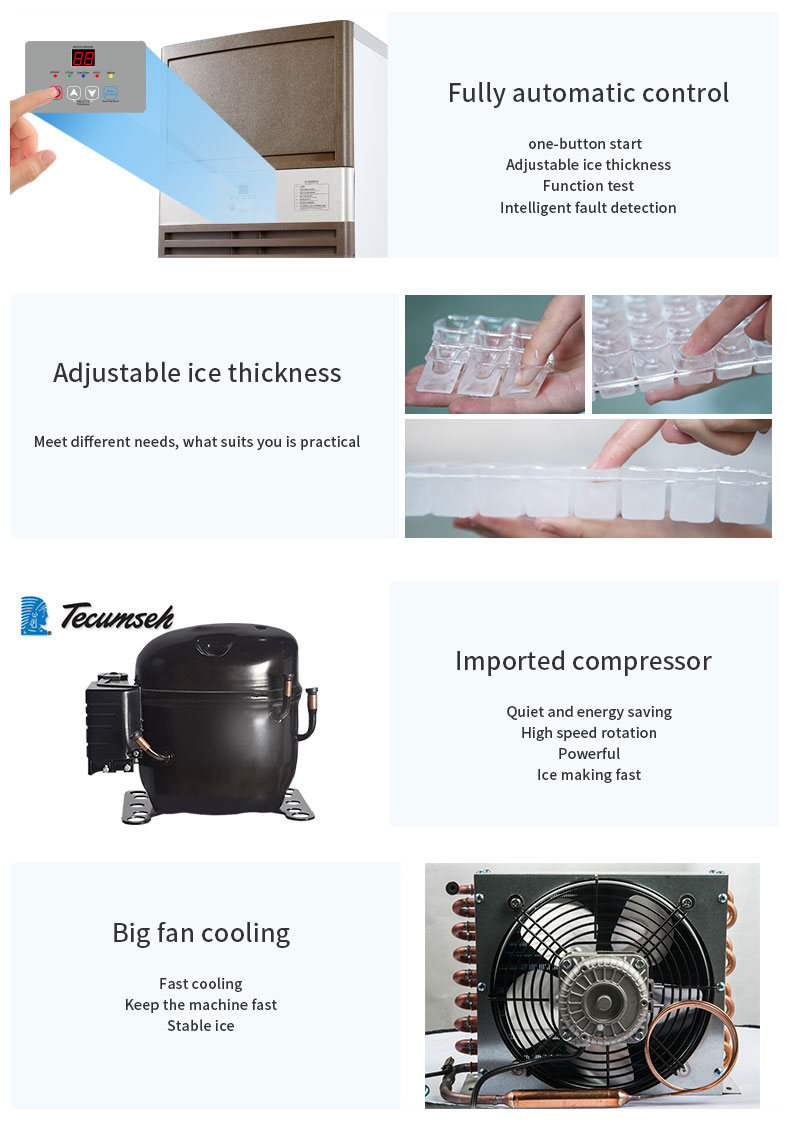Ice Maker with cheap promotion price automatic ice making machine