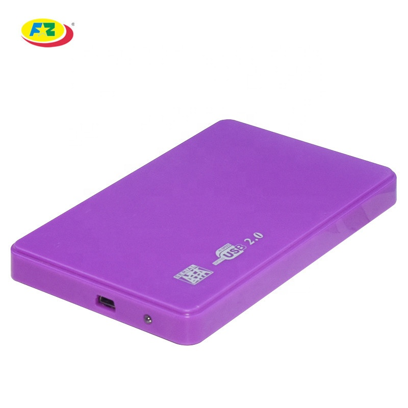 2.5 Inch SSD HDD Enclosure USB2.0 SATA 5Gbps 4TB Tool-Free Box External Hard Disk Drive Case 7.5mm
