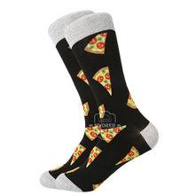 Мужские носки MYORED, повседневные удобные носки для катания на скейтборде, свадьбы, носки с геометрическим рисунком акулы, 2019(China)