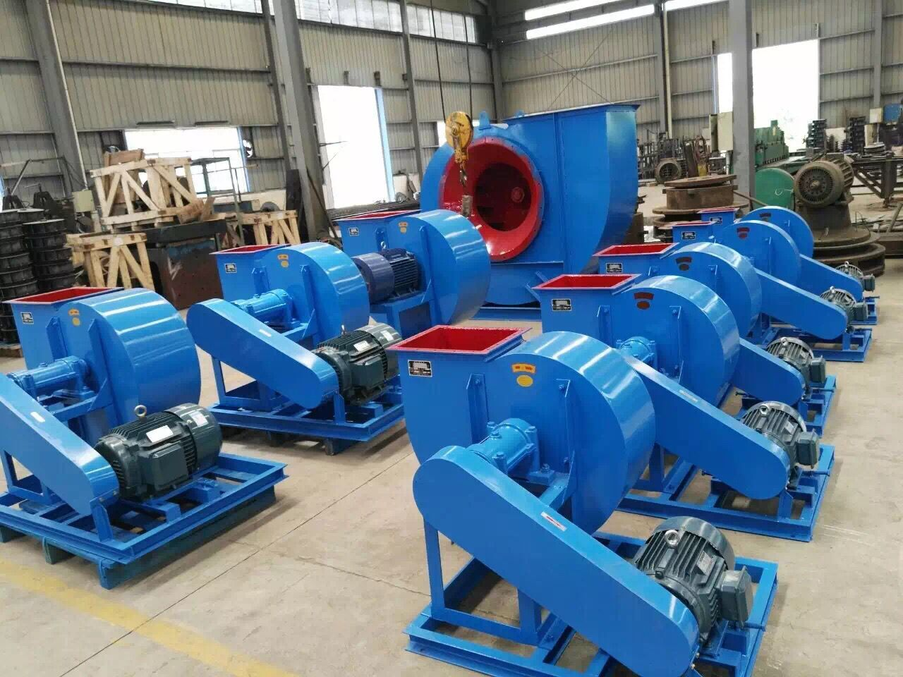 High Quality 4-72 Series Low Pressure Air Blower