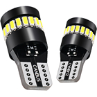 Wholesale price 155LM audew t10 car led smd bulb w5w wedge amber 3030 SX124-B
