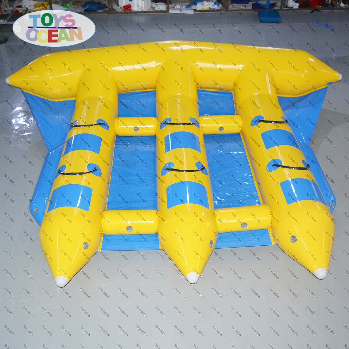 Funny Inflatable Motorized Water Toys Inflatable Flying Fish Tube