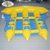 water toys float banana boat inflatable flying fish