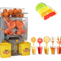 Automatic Fruit nutrition juicer high juice yield Squeezer machine industrial fruit orange juice extractor machine
