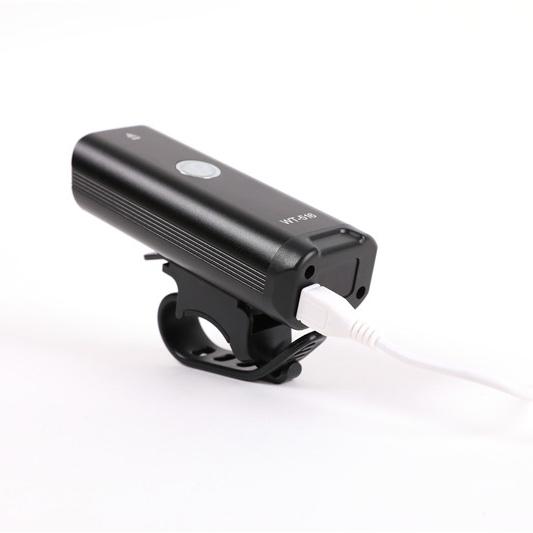 Qimai Built-in battery mountain bike parts bike accessories bicycle light XPG bulb usb charging led bike light