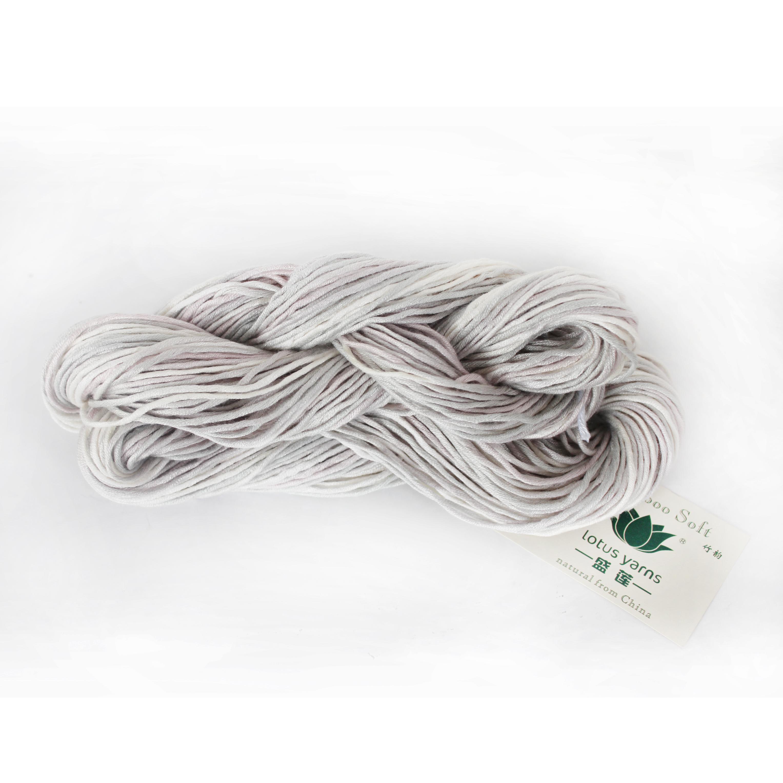 xingtai lotus bamboo soft bamboo spun hand knitting yarn