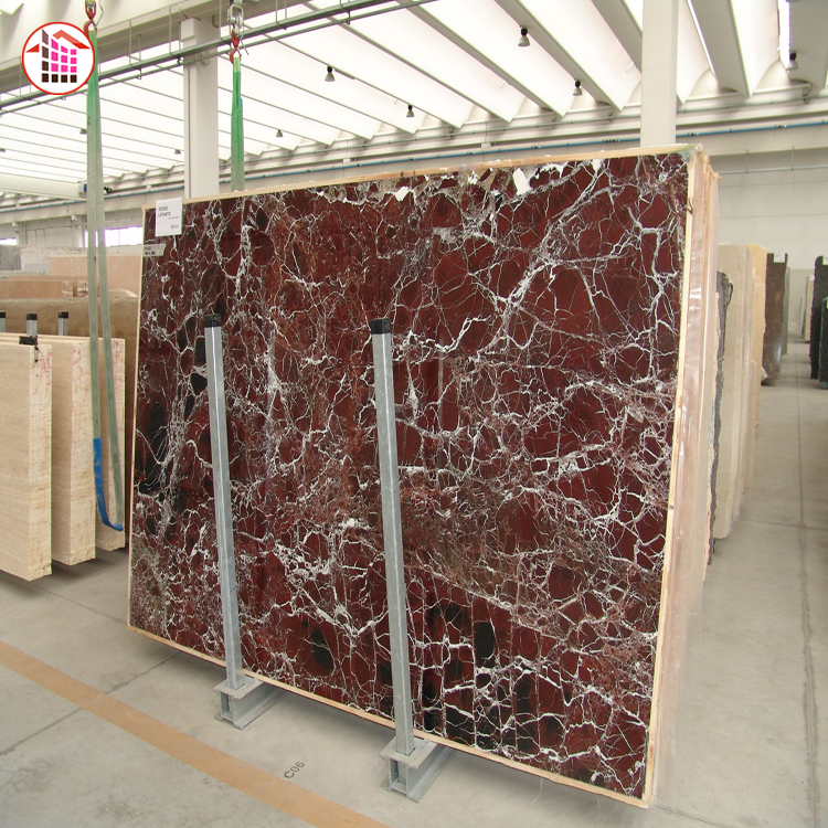 Wholesale red marble slab price Rosso Levanto marble