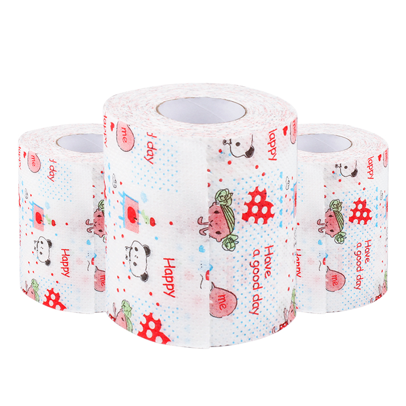 VOBAGA lustige bambus 3 ply wc tissue papier rolle
