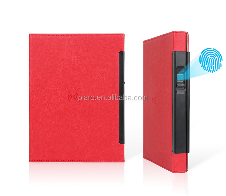 Custom Bluetooth Opname Journal Notebook met Powerbank Dagboek Draadloze Oplader