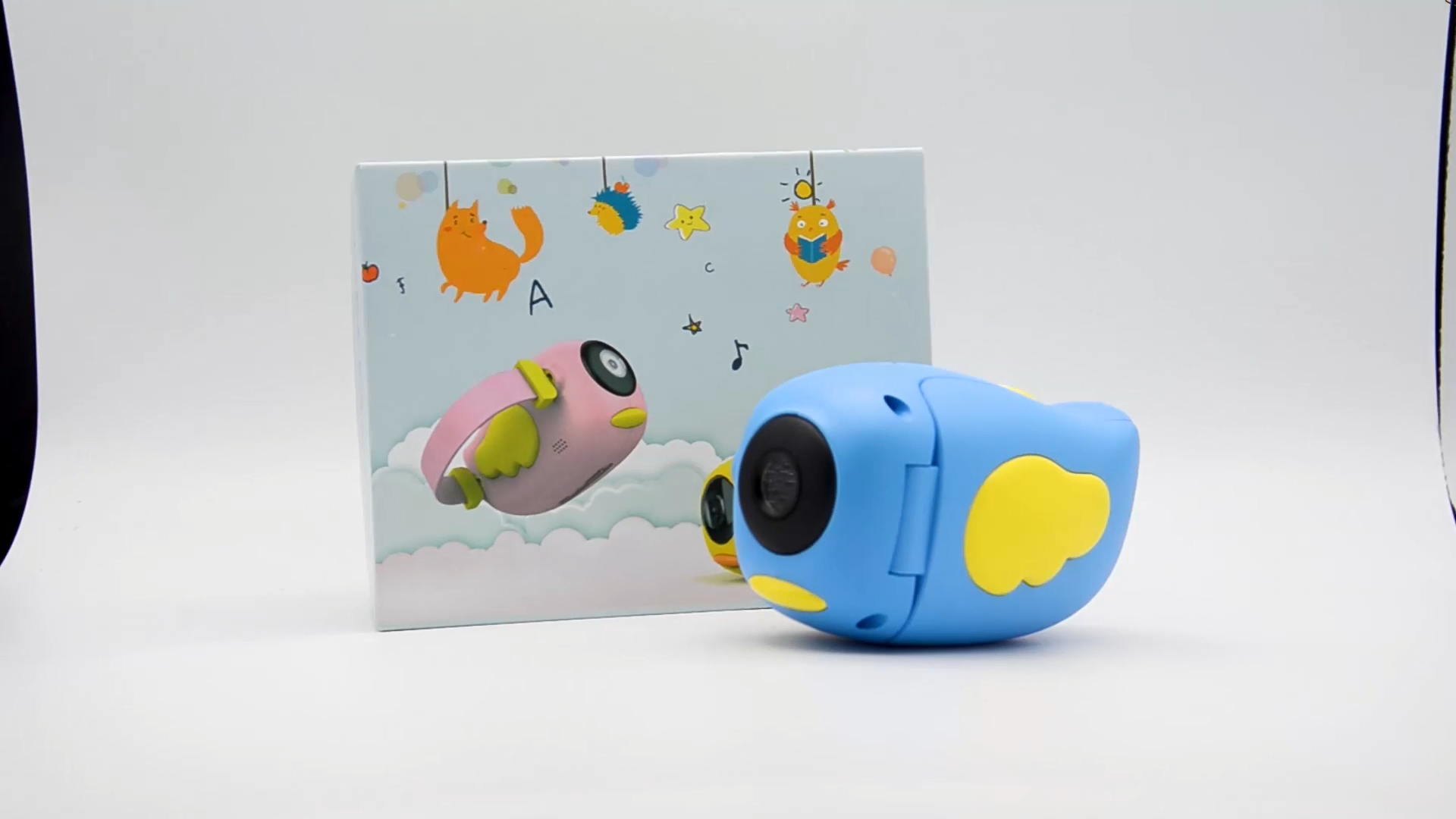 2020 Christmas Toys Outdoor Photography 2 Inch HD Screen Chargeable Digital Mini Camera Kids Cartoon Cute Camera for Child Birth
