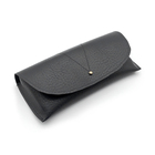 fashion leather soft cover sunglasses bag pu glasses case pouch