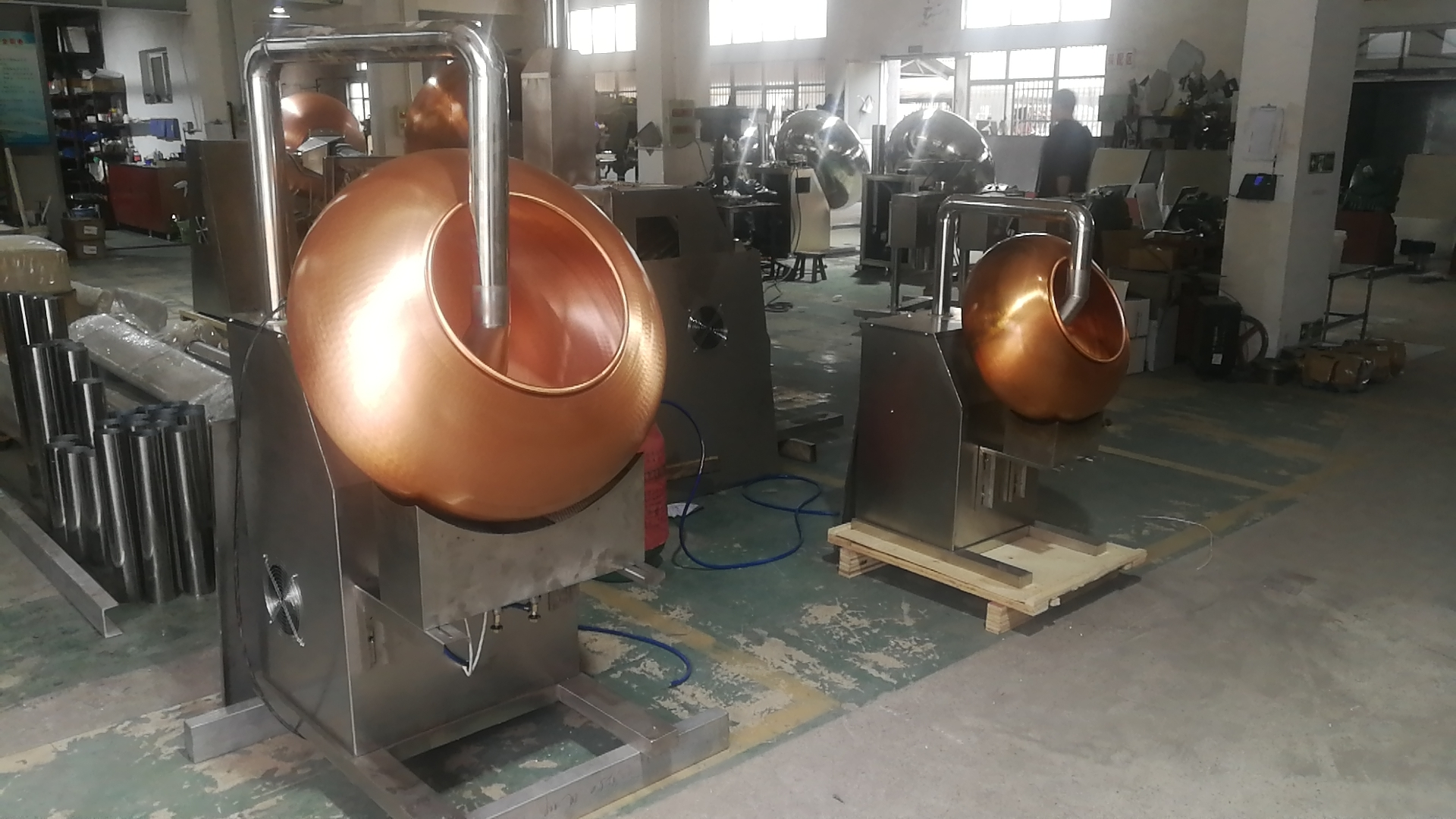 factory price sugar coating caramelizing pan for nuts