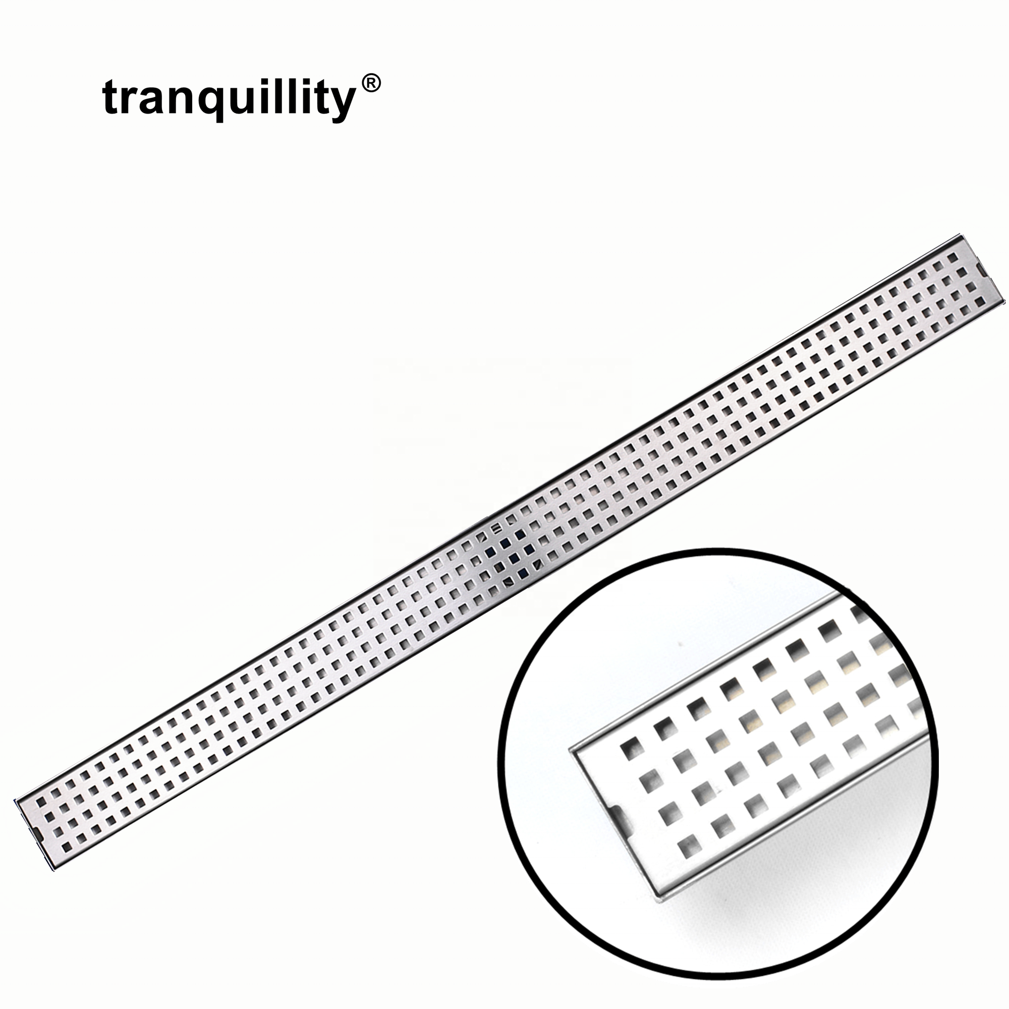 Stainless Steel Rectangular Smart Shower Linear Floor <strong>Drain</strong>