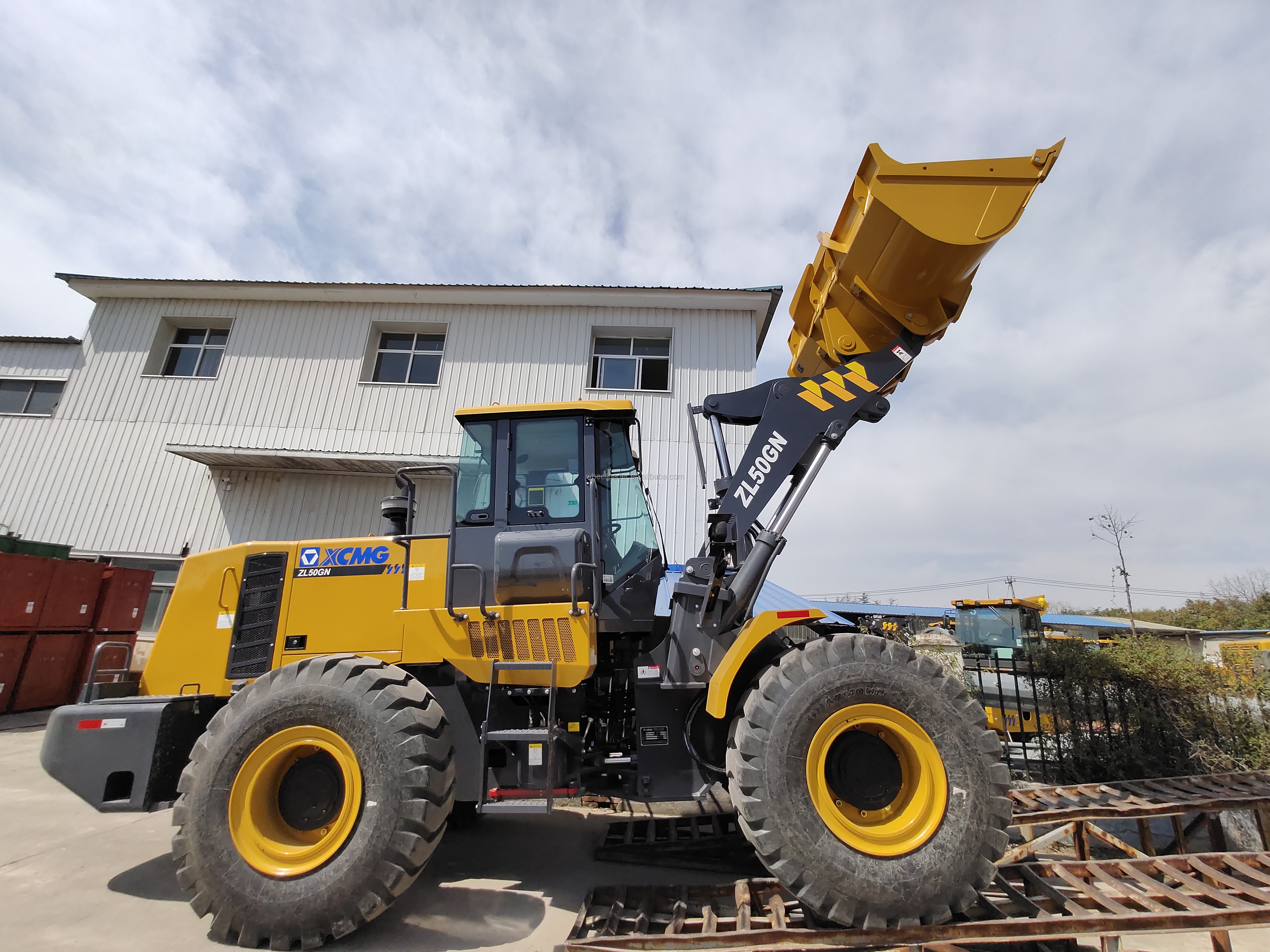New Chinese ZL50GN 5 Ton Wheel Loader with 4.5m3 Bucket