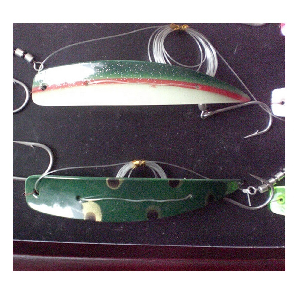 Kwikfish ปลาแซลมอนตกปลาเหยื่อ Trolling Flasher Lures Kings Lake Trout Fishing Lure