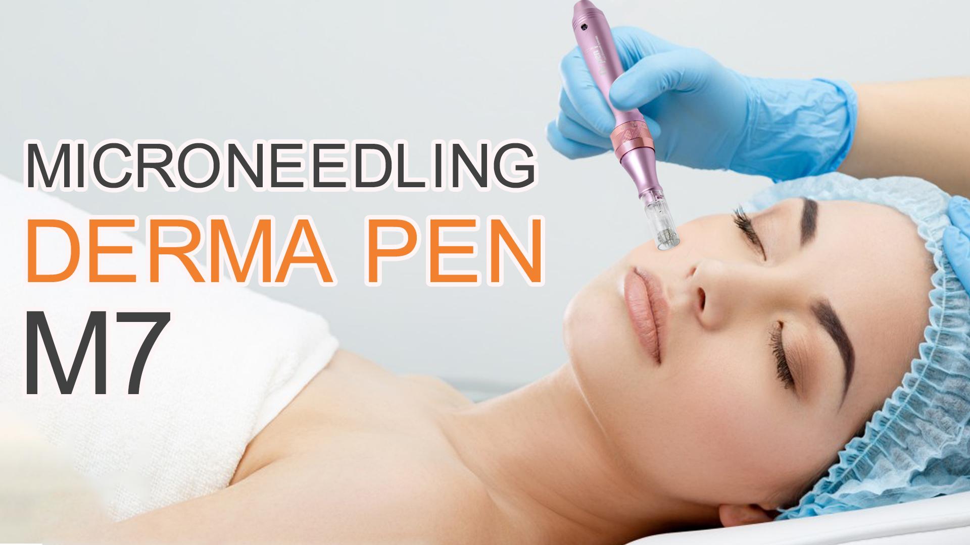 CE M7 microneedle système ultima stylo électrique derma stylo
