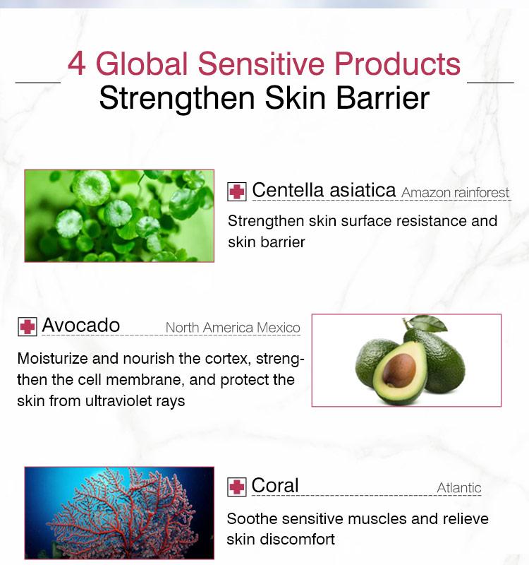 Sıcak satış cilt onarım losyonu creamserious yumuşatma bakımı bitki özü yüz serumu satılık