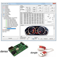 Mileage Odometer Correction Software MTool V1.34 with Denso adapter Supported by OBD M-bus