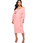 Dresses Maternity Dresses Off The Shoulder Wrap Midi Women Maternity Clothing Maternity Dresses Nursing Clothes