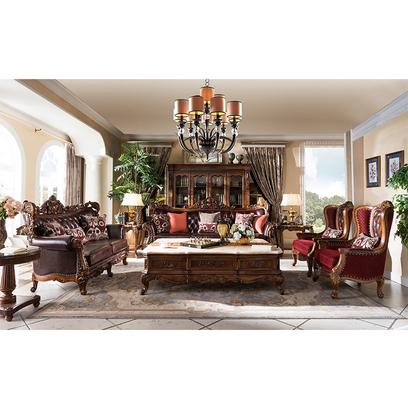 Antika mobilya setleri oturma odası kanepeleri GH59