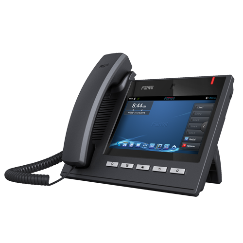 Fanvil C600 Android llamada Centro SOHO Enterprise Video teléfono VOIP para oficina con 4GB Flash
