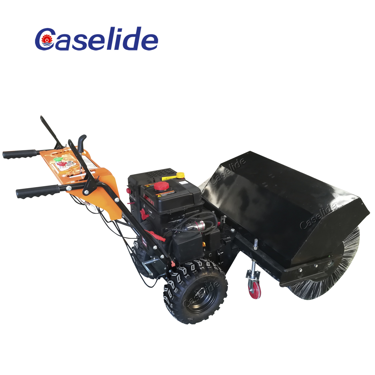 Remote control snow blower snowplow led light truck mounted snow blowers