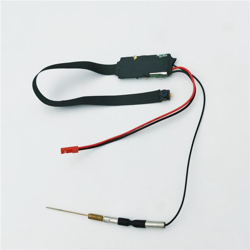 OEM pinhole 1080P 2MP H.264 uzaktan kumanda saat ses wifi mikro wifi casus kamera gizli