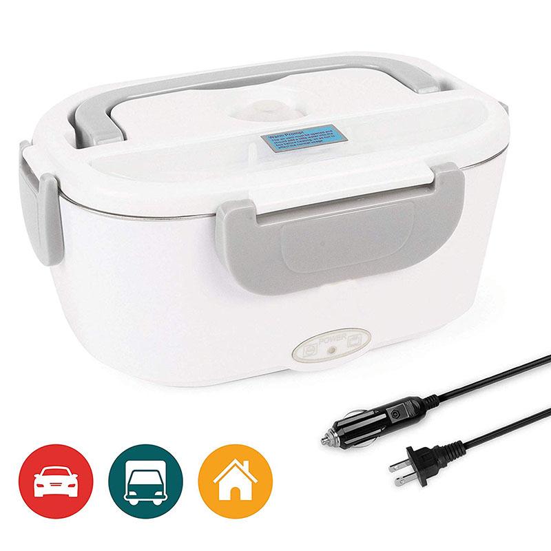 食品収納ウォーマーステンレス鋼取り外し可能な容器弁当箱usbが付いている携帯用電気暖房弁当箱