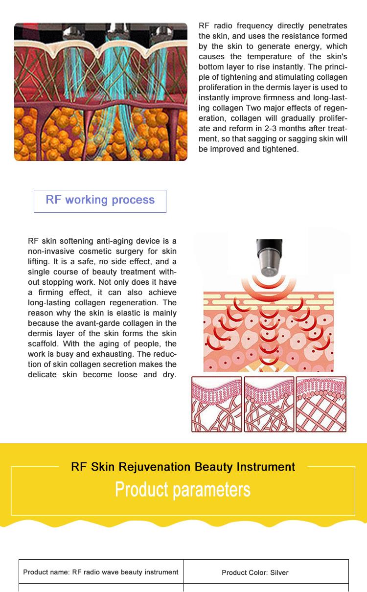 Rf gesichts gerät gesicht schönheit maschine ausrüstung