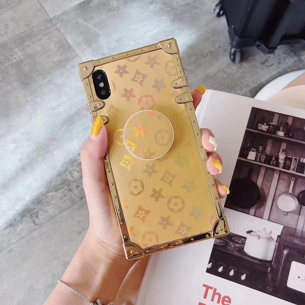 New Famous Brand Popular Electroplating Glitter Unique Kickstand Phone Case For Iphone11 Luxury Women Case For Iphone 11 Pro <strong>Max</strong>