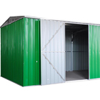 SUE 11 x 8FT Widely used and popular style gable roof metal motorcycle garages and sheds for sale shed design