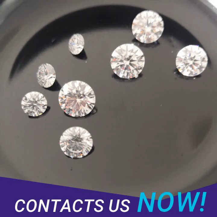 Wholesale price real White cvd diamond  for sale
