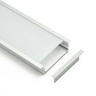 Wide T shape recessed and surface mounted for ceiling and wall led aluminum channel