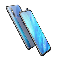 Double Tempered Glass 360 Magnet Adsorption Phone Case for vivo Nex2