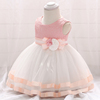 2019 new pink princess baby girl frock model children clothes girls party dress