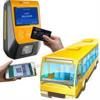 Linux POS automated ticketing system electronic ticket machine bus nfc rfid card reader with SIM card