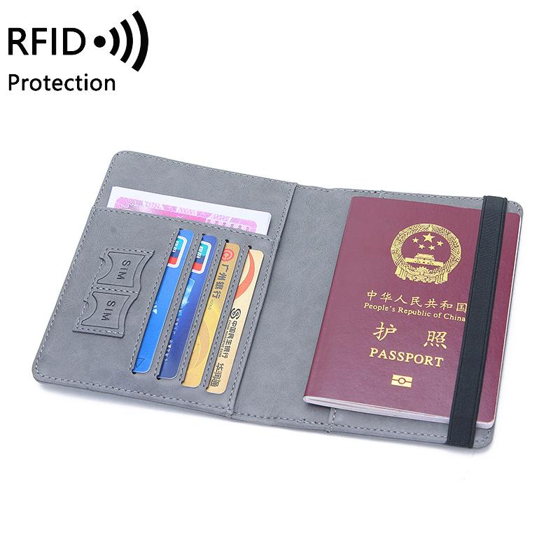 Miyin2020ультратонкий чехол для паспорта из искусственной кожи для путешествий с логотипом на заказ, держатель для паспорта, кошелек, сублимация, rfid, держатели для паспорта