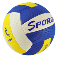 Foam Microfiber volleyballs inflated Soft touch TPE leather qi volleyball ball