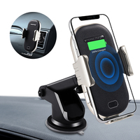 Phone Holder Auto Mobile 10w Qi Wireless Fast Charger Car Phone Charger