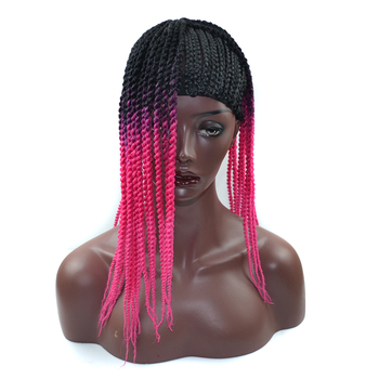 Wholesale Wig Cap For Making Wigs ,Black Braid Wig Cap Dirty Braided Headband Special Small Braided Hair Net