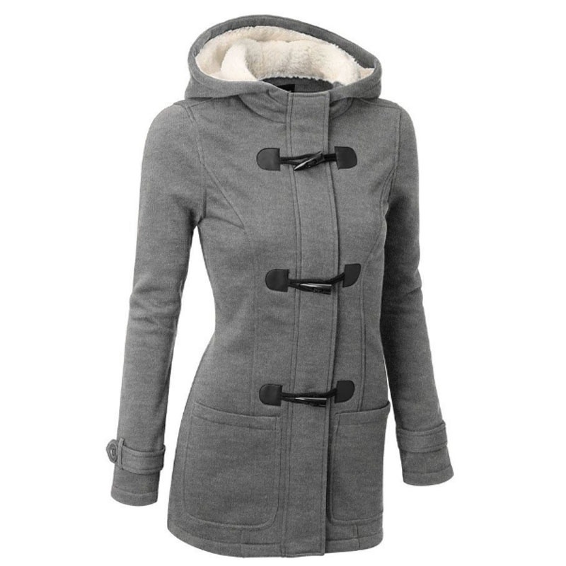 Wholesale Fashion Winter Warm Chaquetas <strong>Coat</strong> Cotton-Padded Clothes Buckles <strong>Trench</strong> Long <strong>Coat</strong> <strong>for</strong> <strong>Women</strong>