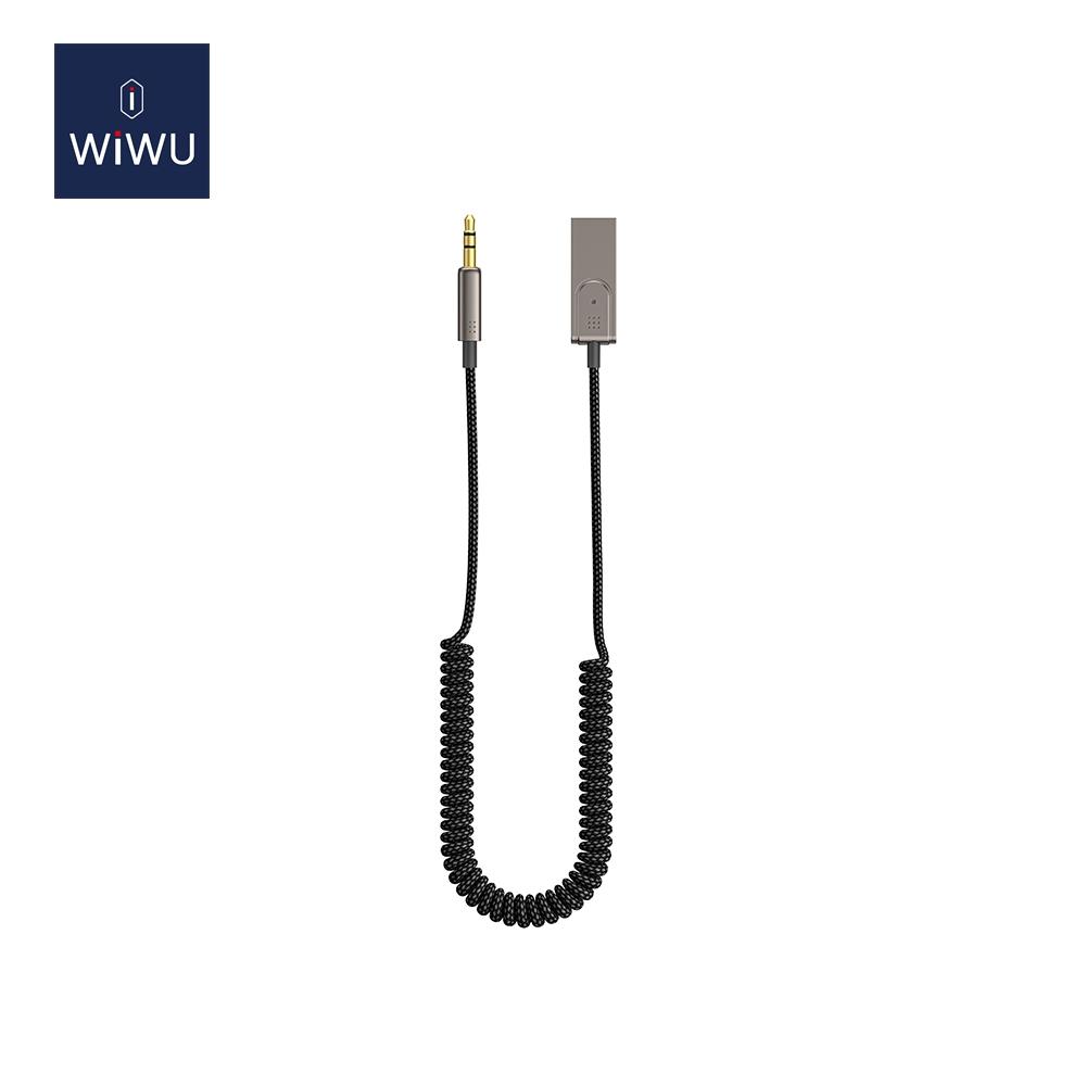 WIWU YP04 车载3.5mm转USB音频线 (https://www.wiwu.net.cn/) 数据线 第2张