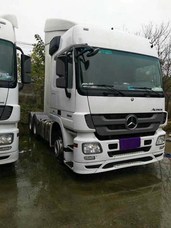 2017 2018 anni di Seconda Mano Mercedes Bebz Scania Camion Rimorchio Testa Originale Utilizzato Flatbed Camion per la Vendita