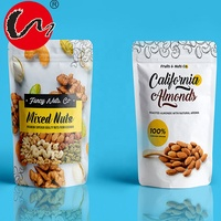 Nuts snack bag packing coconut plastic