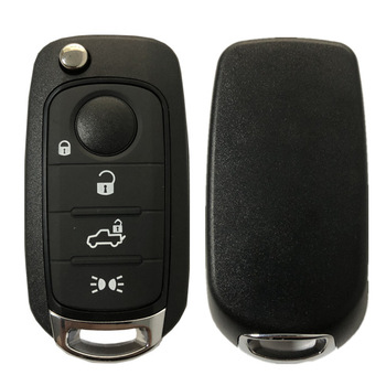 Flip Key for Fiat Egea tipo 500 500X 4Buttons 434MHz Megamos 88 AES VIRGIN Blade SIP22 Model: I6FA