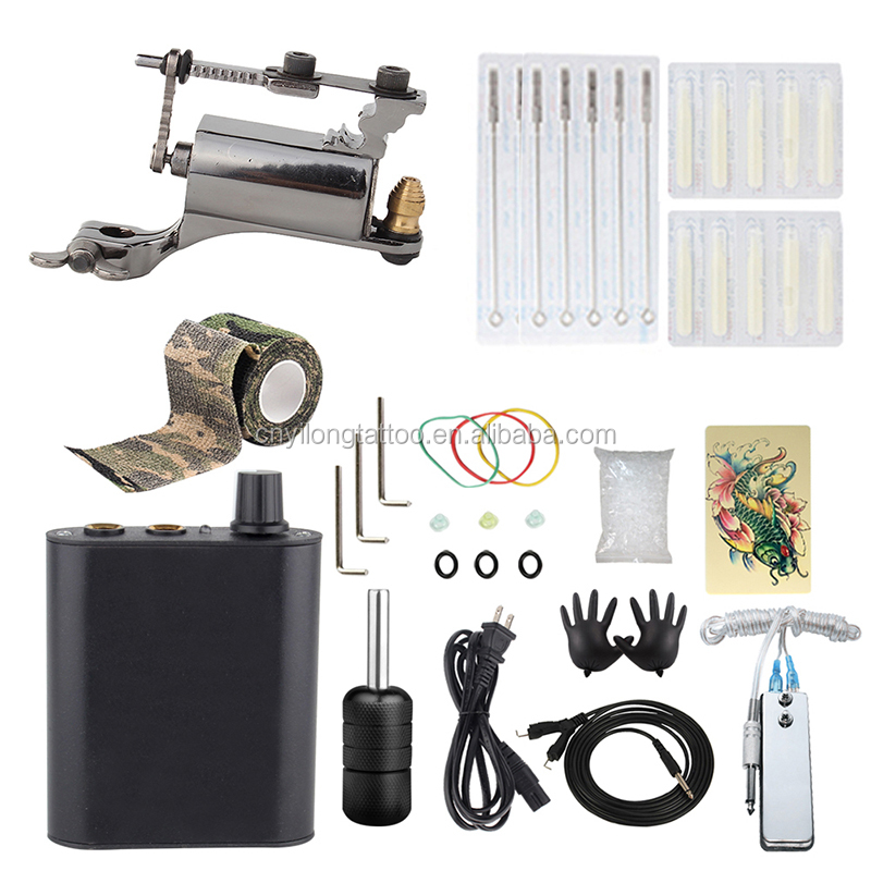 Rotary Tattoo Machine Kit Professional Machine Set New High Quality Tattoo Machine Kit