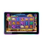 TOPONETECH 21.5 inch 4:3 open frame high brightness touch screen monitor with external acrylic LED bar for casino gambl
