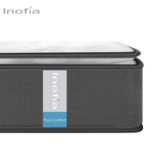 Inofia Luxe Trage 7-Zone <span class=keywords><strong>Pocketvering</strong></span> Kern Matras Springing Multi-layer Schuim Gecomprimeerde Matrassen