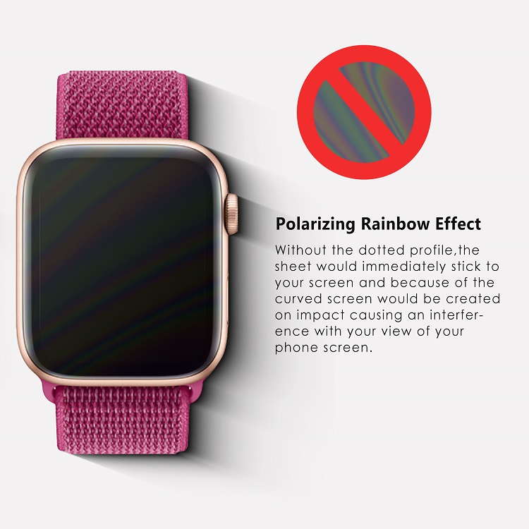 0.33mm 9h 3d shatterproof tempered glass screen protector for Apple Watch Series 5 2019
